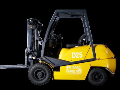 Дизельный погрузчик Dimex D25